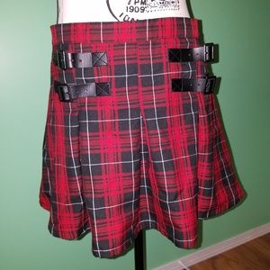 Hot Topic Plaid Skirt size X-Large